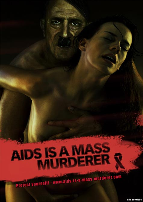 Hitler - World Aids Day 2009