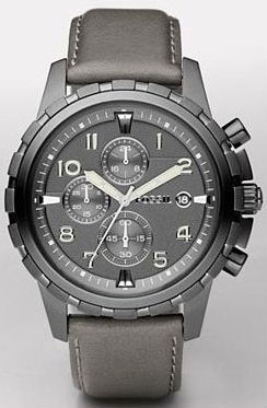 Fossil Gray Dial Watch for Men