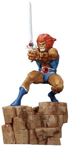 Lion Thundercats on Lion O Statue