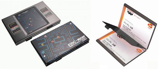 Pacman Business Card Holder