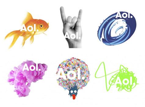Aol Logo Rebranding