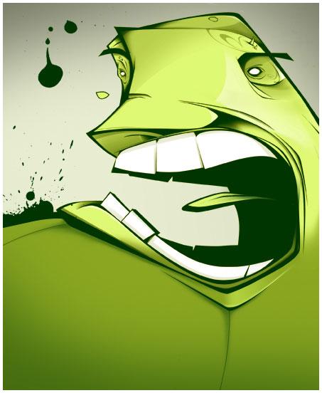 Aro Illustrator Monster