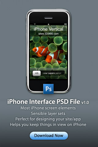 iPhone Graphics PSD