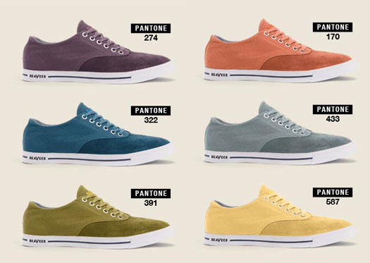 Seavees Pantone shoes