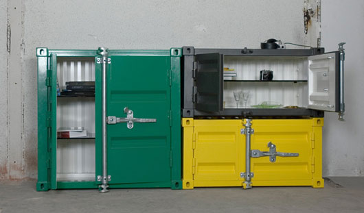 Shipping Container as Furniture