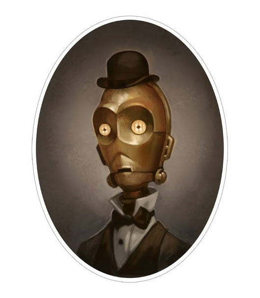 Star Victorian Style - C3PO