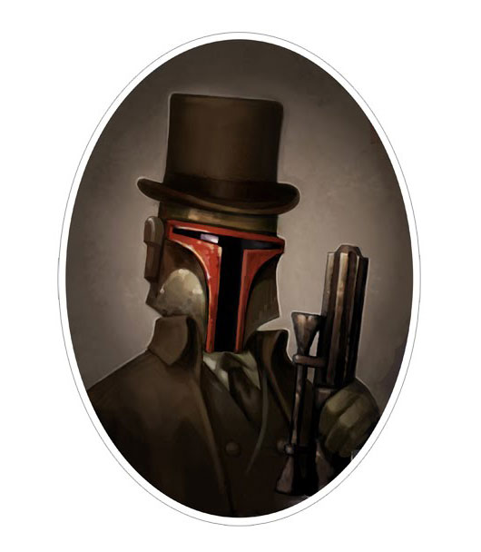 Star Victorian Style - Boba Fett