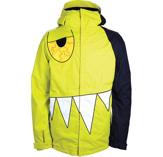686 Snowboarding Jacket Limited Edition Snaggletooth