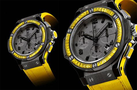 Hublot Luxury Watches - Big Bang Black Lemon