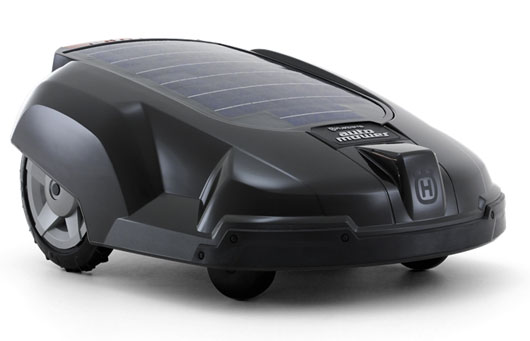 automatic lawn mower husqvarna automower solar hybrid. Black Bedroom Furniture Sets. Home Design Ideas