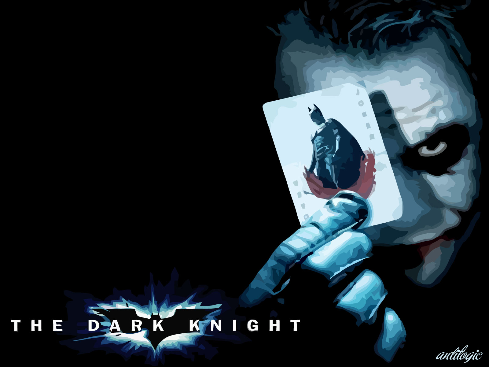 Batman The Dark Knight Wallpaper The Joker Antilogic